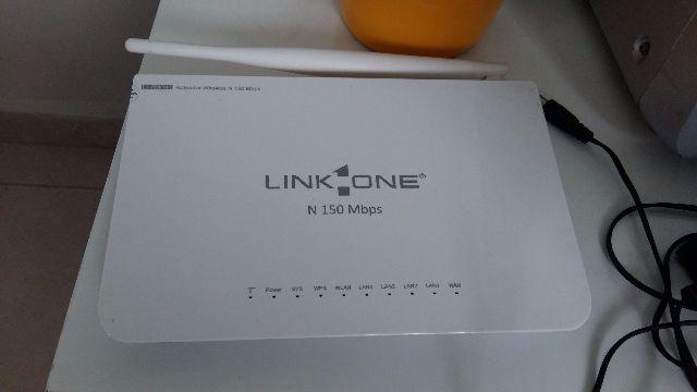 Roteador wifi link one
