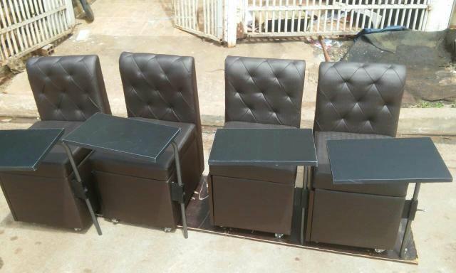 Cadeira Top de Luxo P/Manicure