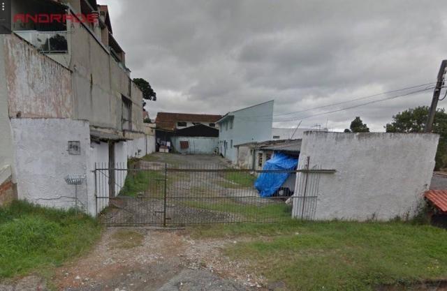 Terreno residencial à venda, Vista Alegre, Curitiba.