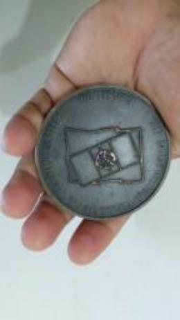 Medalhão Mundial de voleibol 1990 no Brasil - Foto 3