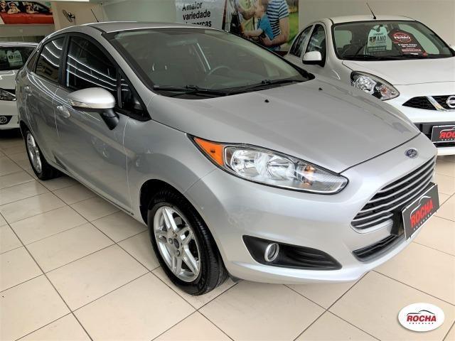 New Fiesta Sed 1.6 Sel Aut - Top - Ipva 2020 Pago - Garantia Ford - Leia o Anuncio! - Foto 2