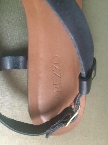 Arezzo 36/37 sandália de couro - Foto 5