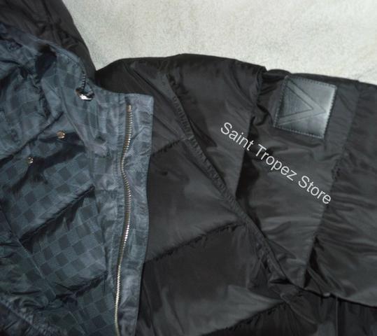 Exclusiva Jaqueta Louis Vuitton Reversível com enchimento e capuz , Rara - Foto 6