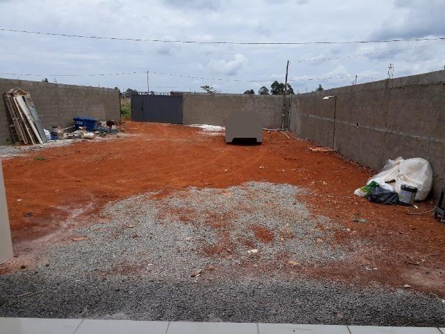 Casa nova, espaçosa com area de churrasqueira, 2quartos, 2 banheiros, lote de 400metros - Foto 15