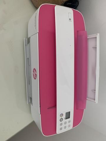 Impressora HP Rosa - Foto 4