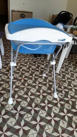 Trocador e banheira azul - Foto 2