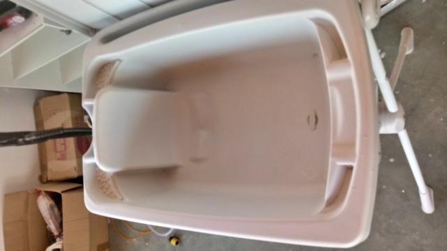 Trocador e banheira de bebê - Foto 2