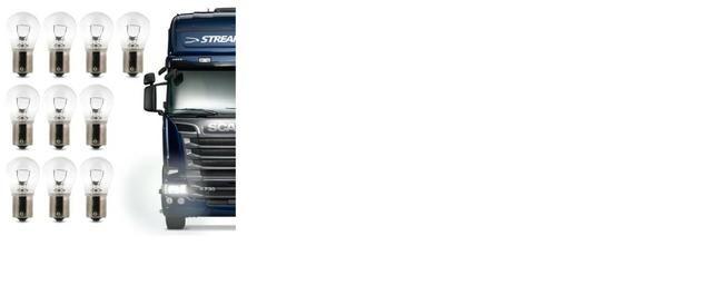 Lâmpada Halógena Multilaser P21/5 3200K 24V 5W - Foto 2
