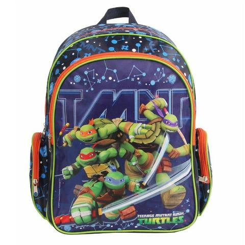 Mochila Escolar Infantil Tartarugas Ninja Dmw