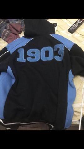 42a50c90ac Casaco do Grêmio original com capuz tamanho P - Roupas e calçados ...