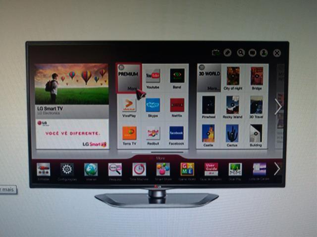 01896d5acf2 Smart TV Cinema 3D LED 42  Full HD LG 42 - Áudio
