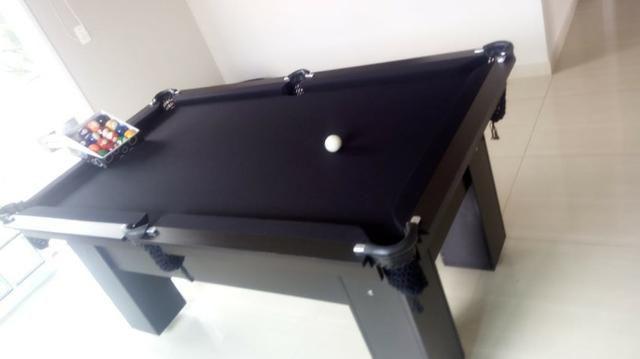 Mesa de Redes Cor Preta Tecido Preto Mod. VYRV1890 - Foto 2