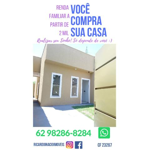 Casa 2/4 com Suíte, Próxima ao Anel Viário em Goiânia