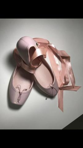 0421fcf780 Melissa Ballet - Rosa - Tamanho 35 - Nunca Usada! - Roupas e ...