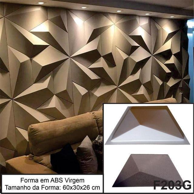 Forma Gesso 3D Forma Para Produção de Gesso 3D ou Cimento 3D Pronta Entrega