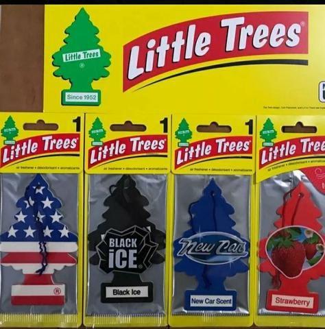 Aromatizantes para carro little trees R$ 12