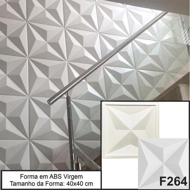 Forma Gesso 3D Forma Para Produção de Gesso 3D ou Cimento 3D Pronta Entrega - Foto 2
