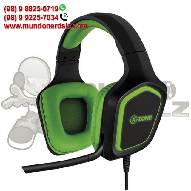 Headset Gamer LED P2P3 Xzone GHS-02 em São Luís Ma - Foto 2