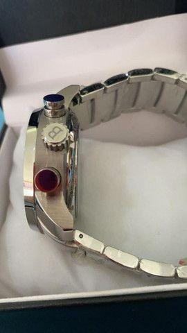 Relógio BVLGARI Híbrido Prata Automático a prova d'água - Foto 2
