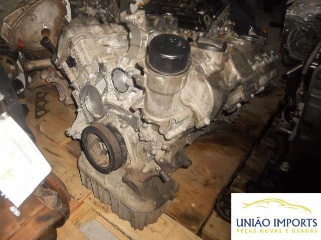 Motor Parcial Mercedes Ml 500 V8 06 A Base De Troca Nº2755