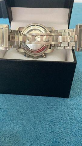 Relógio BVLGARI Híbrido Prata Automático a prova d'água - Foto 4