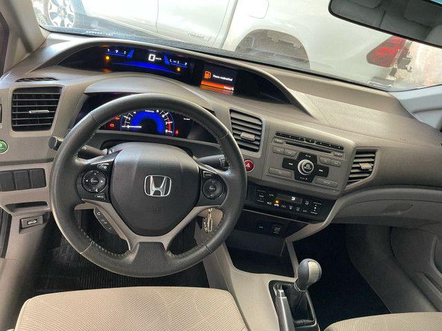 Honda Civic Lxs 1.8 flex manual 2014 Obs! Sem detalhes - Foto 8