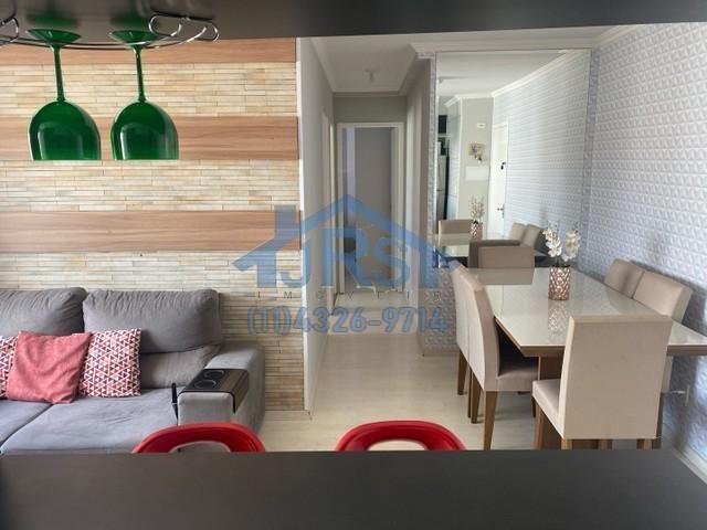 Apartamento com 2 dormitórios à venda, 50 m² por R$ 280.000 - Vila Mercês - Carapicuíba/SP - Foto 2