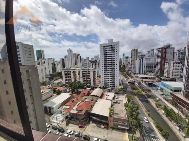 Apartamento com 1 quarto para alugar, 43 m² por R$ 1.599/mês - Boa Viagem - Recife/PE - Foto 3