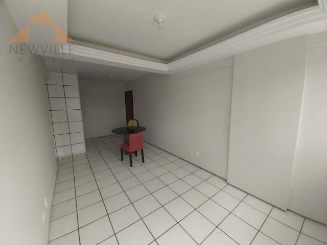 Apartamento com 1 quarto para alugar, 43 m² por R$ 1.599/mês - Boa Viagem - Recife/PE