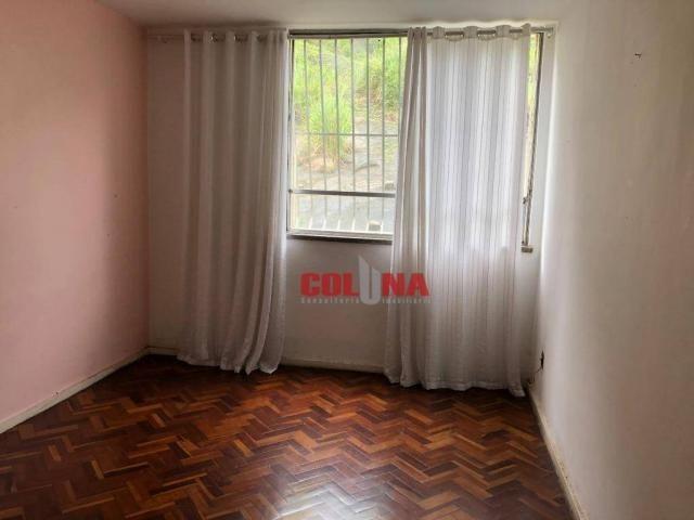 Apartamento com 2 dormitórios para alugar, 45 m² por R$ 1.000,00/mês - Santa Rosa - Niteró - Foto 2