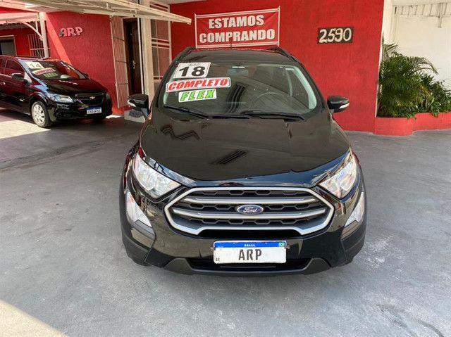 Ford EcoSport  se 1.,5 preta flex 2018 com multimidia - Foto 2
