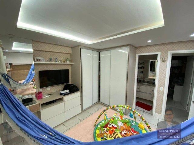 Apartamento no Espaço Catalunya com 3 dormitórios à venda, 105 m² por R$ 675.000 - Varjota - Foto 9