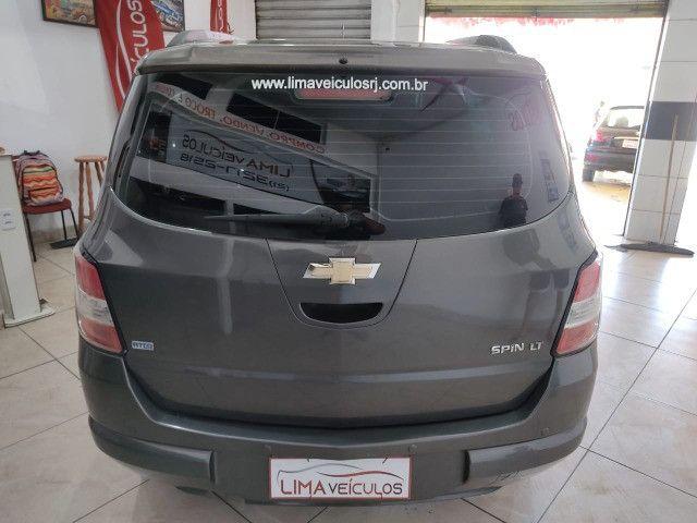 Chevrolet Spin LT 1.8 Automática + GNV 5G Novíssima - Foto 5