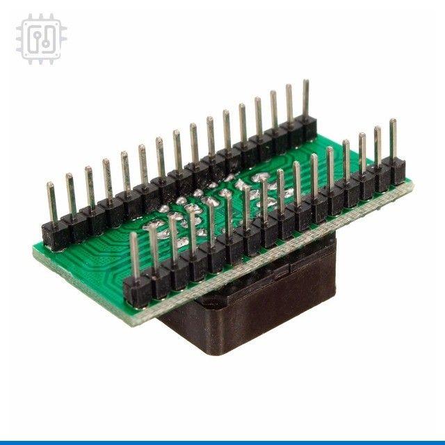 Adaptador PLCC32 - DIP32 - Foto 3