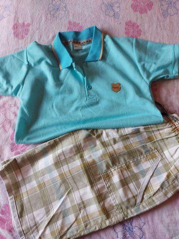 Bermuda de moletom,conjunto de bermuda e camisa Polo, calça e bermudas jeans  - Foto 5
