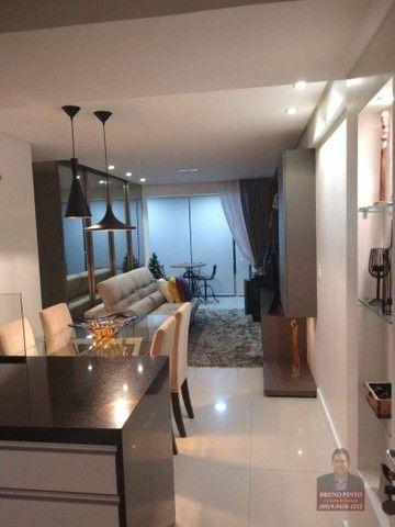 Apartamento no Mareés Residence Meireles com 2 dormitórios à venda, 73 m² por R$ 650.000 - - Foto 16