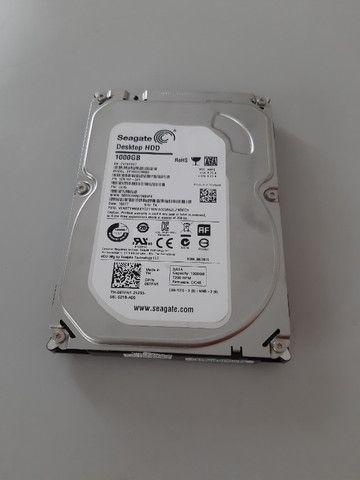 HD 1TB para desktop marca Seagate usado