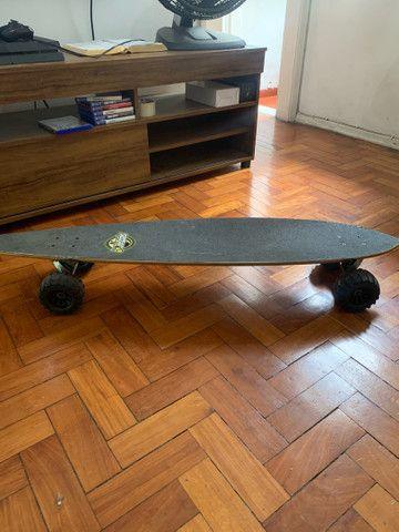 Long board Sector Nine com roda trator  - Foto 3