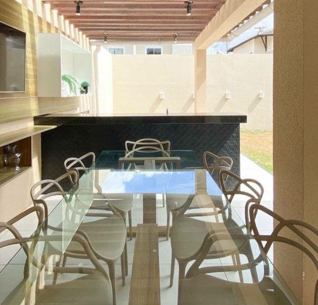 Casa em condominio fechado com 3 quartos  mobilia e lazer completo no Eusebio. - Foto 3