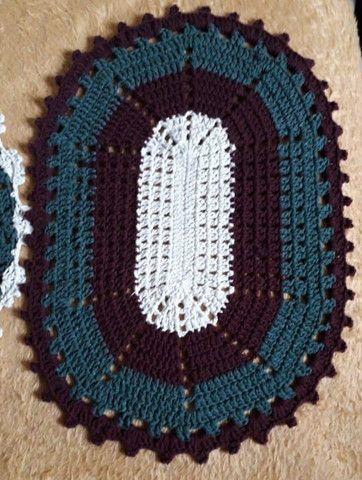 Tapetes de crochê novos( Miguelópolis) - Foto 3