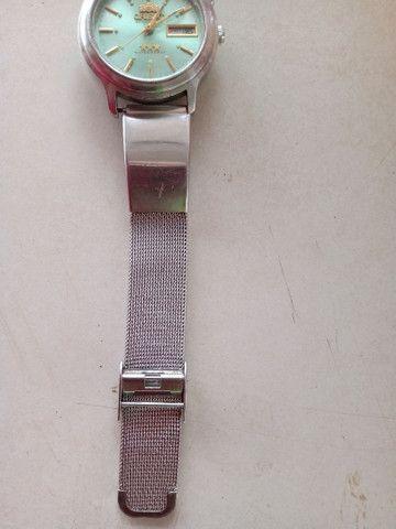 Relógio masculino Orient três estrelas top demais  - Foto 3