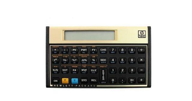 Calculadora hp 12c platinum financeira