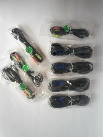 Kit chaveador Kvm TK-409K - USB 4 portas com áudio - Foto 4