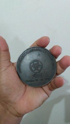 Medalhão Mundial de voleibol 1990 no Brasil - Foto 4