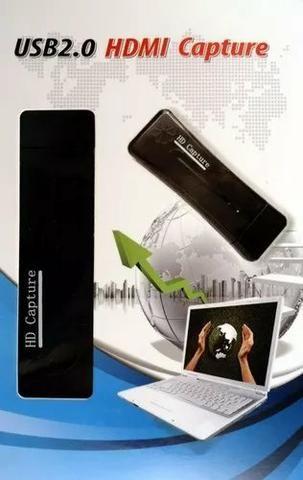 Placa de Captura Usb para Hdmi 2.0 com Gravação de Vídeo