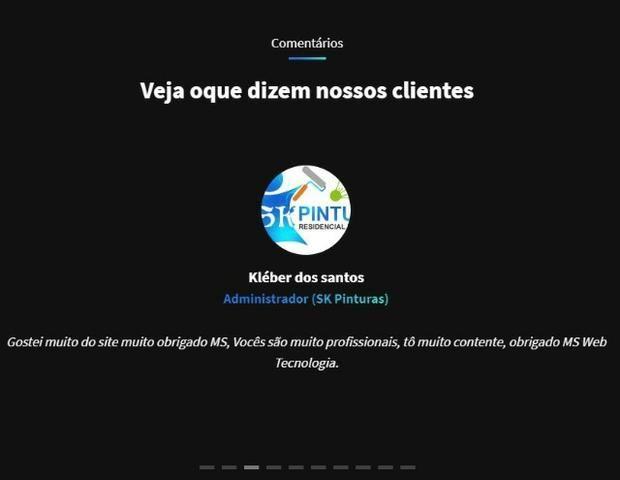 Criação de sites institucionais - Foto 3
