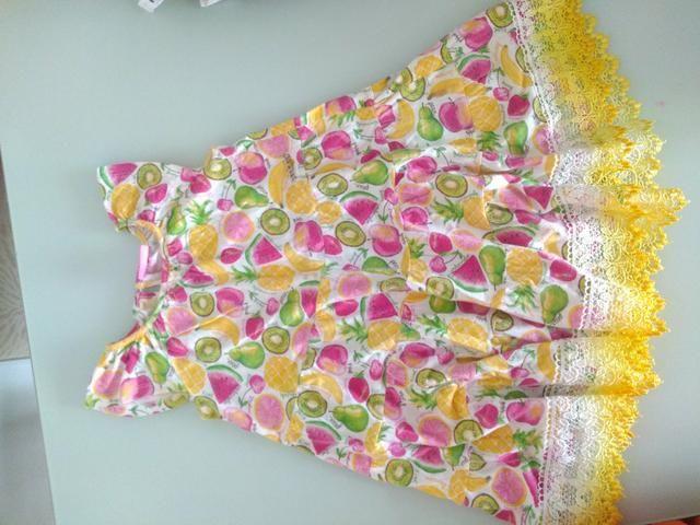 2 vestidos e 1 conjunto bermuda e blusa - Foto 2