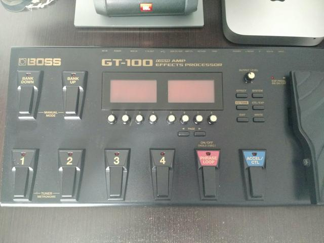 Boss GT100 Zerada!