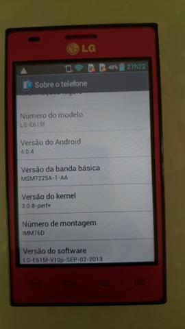 Celular LG Optimus L5