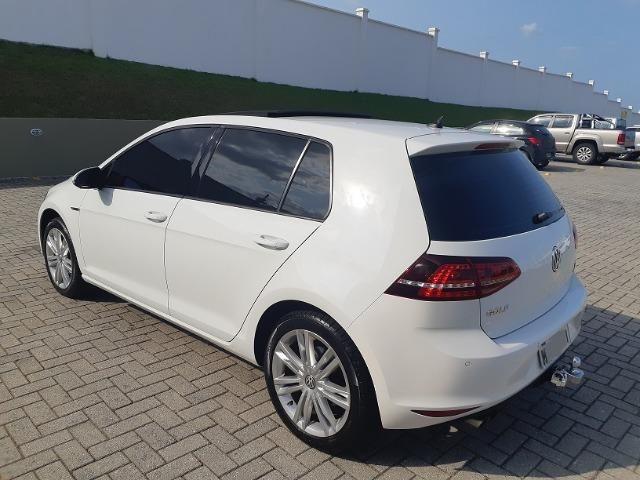 VW Golf Highline 1.4 TSI - com Teto Solar - pacote premium - Aceito Troca - Foto 9
